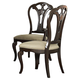 Hillsdale Grandover Dining Side Chair in Dark Cherry (Set of 2) 4904-802