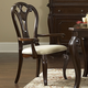 Hillsdale Grandover Dining Arm Chair in Dark Cherry (Set of 2) 4904-801
