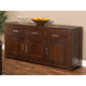 Hillsdale Simply Sydney Server in Smoked Brown 4453-850W