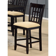 Hillsdale Tabacon Non-Swivel Counter Stool in Cappuccino (Set of 2) 4155-822YM