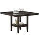 Hillsdale Tabacon Counter Height Dining Table in Cappuccino 4155-835-6