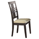 Hillsdale Tiburon Side Dining Chairs in Espresso (Set of 2) 4917-802