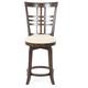 Hillsdale Tiburon Swivel Counter Stool in Espresso (Set of 2) 4917-826