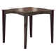 Hillsdale Tiburon Counter Height Fix Top Dining Table in Espresso 4917-818