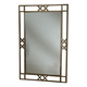 Hillsdale Brookside Fossil Mirror in Brown Powder Coat 4815-890