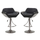 Hillsdale Valencia Bar Stool in Gray (Set of 2) 4291-830