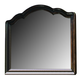 Paula Deen Home Decorative Landscape Mirror in Tobacco