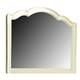 Paula Deen Home Decorative Landscape Mirror in Linen