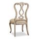 Hooker Furniture Chatelet Splatback Side Chair in Antique Linen (Set of 2) 5350-75410