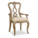 Hooker Furniture Chatelet Splatback Arm Chair (Set of 2) 5300-75400