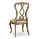 Hooker Furniture Chatelet Splatback Side Chair (Set of 2) 5300-75410