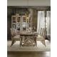 Hooker Furniture Chatelet 7pc Rectangular Trestle Dining Table Set
