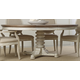 Hooker Furniture Sunset Point Pedestal Dining Table in Sea Oat-Hatteras White 5325-75203