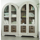 Hooker Furniture Sunset Point Display Cabinet in Hatteras White 5325-75908