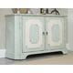Hooker Furniture Sunset Point 2-Door Credenza in St. Thomas Blue 5326-75903