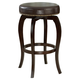 Hillsdale Wilmington Backless Swivel Counter Stool (Set of 2) in Cappuccino 4933-828