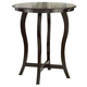 Hillsdale Wilmington Round Bar Height Dining Table in Cappuccino 4933-836-837