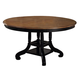 Hillsdale Wilshire Round Dining Table in Rubbed Black 4509-816-817