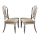 Hillsdale Wilshire Dining Chair in Antique White (Set of 2) 4508-802