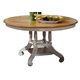 Hillsdale Wilshire Round Dining Table in Antique White 4508-816-817