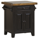 Hillsdale Tuscan Retreat™ Granite Top Small Kitchen Island in Black 5267-855W