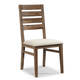 Cresent Fine Furniture Waverly Ladderback Side Chair in Driftwood (Set of 2) 5558