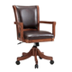 Hillsdale Park View Office/Game Chair in Medium Brown Oak (Set of 2) 4186-800