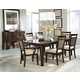 Standard Furniture Avion 8-pc Rectangular Dining Set in Cherry
