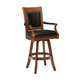 Hillsdale Kingston Game Swivel Bar Stool in Medium Cherry (Set of 2) 6004-831