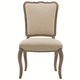 Bernhardt Auberge Upholstered Dining Side Chair in Weathered Oak 351-541A (Set of 2)
