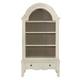 Bernhardt Auberge Display Cabinet in Vintage White 351-812C