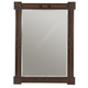 Bernhardt Pacific Canyon Landscape Mirror in Coffee Bean 349-331