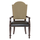 Bernhardt Pacific Canyon Upholstered Arm Chair in Coffee Bean 349-542 (Set of 2)