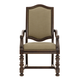 Bernhardt Pacific Canyon Upholstered Arm Chair in Coffee Bean 349-544 (Set of 2)