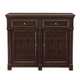 Bernhardt Pacific Canyon Server in Coffee Bean 349-400