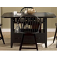 Liberty Furniture Hearthstone Center Island Table in Black 482-GT3660TB