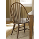 Liberty Furniture Hearthstone Windsor Back Arm Chair in Rustic Oak (Set of 2) 382-C1000A