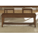Liberty Furniture Hearthstone Bench in Rustic Oak 382-C9000B