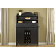 Liberty Furniture Hearthstone Server with Hutch in Black 482-SRH5074