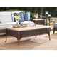 Tommy Bahama Outdoor Island Estate Lanai Rectangular Cocktail Table w/ Weatherstone Top 3170-945