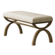 Liberty Furniture Town & Country Upholstered Bench in Sandstone 603-C9001B