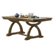 Liberty Furniture Town & Country Trestle Table in Sandstone 603-PT4296