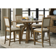 Liberty Furniture Town & Country 5 Piece Gathering Table Dining Set in Sandstone