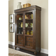 Liberty Furniture Rustic Tradition Display Cabinet in Rustic Cherry 589-CH5278