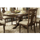 Liberty Furniture Rustic Tradition Oval Pedestal Table in Rustic Cherry 589-TP5472 CLEARANCE