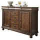 Liberty Furniture Rustic Tradition Server in Rustic Cherry 589-SR5842 EST SHIP TIME IS 4 WEEKS