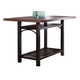 Liberty Furniture Franklin Gathering Table in Rustic Brown 202-GT3860