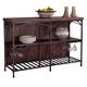 Liberty Furniture Franklin Server In Rustic Brown 202-SR5636
