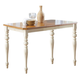 Liberty Furniture Ocean Isle Gathering Table in Bisque with Natural Pine 303-G5454 EST SHIP TIME IS 4 WEEKS