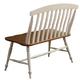 Liberty Furniture Al Fresco Slat Back Bench in Driftwood/Sand 841-C9000B